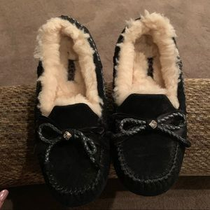 Black Ugg Women's Slippers - Size 6